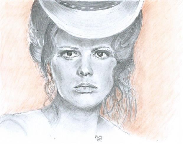 Claudia Cardinale by daniay